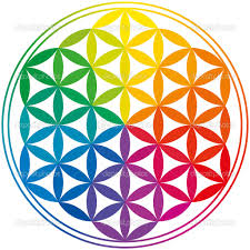 Flower of Life Colorful